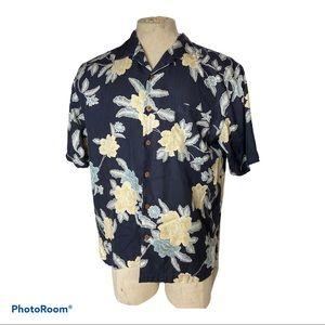 Tommy Bahama Silk Floral Camp Shirt